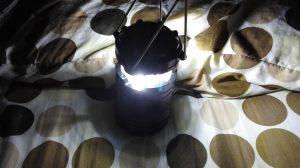LEDランタンの光調節