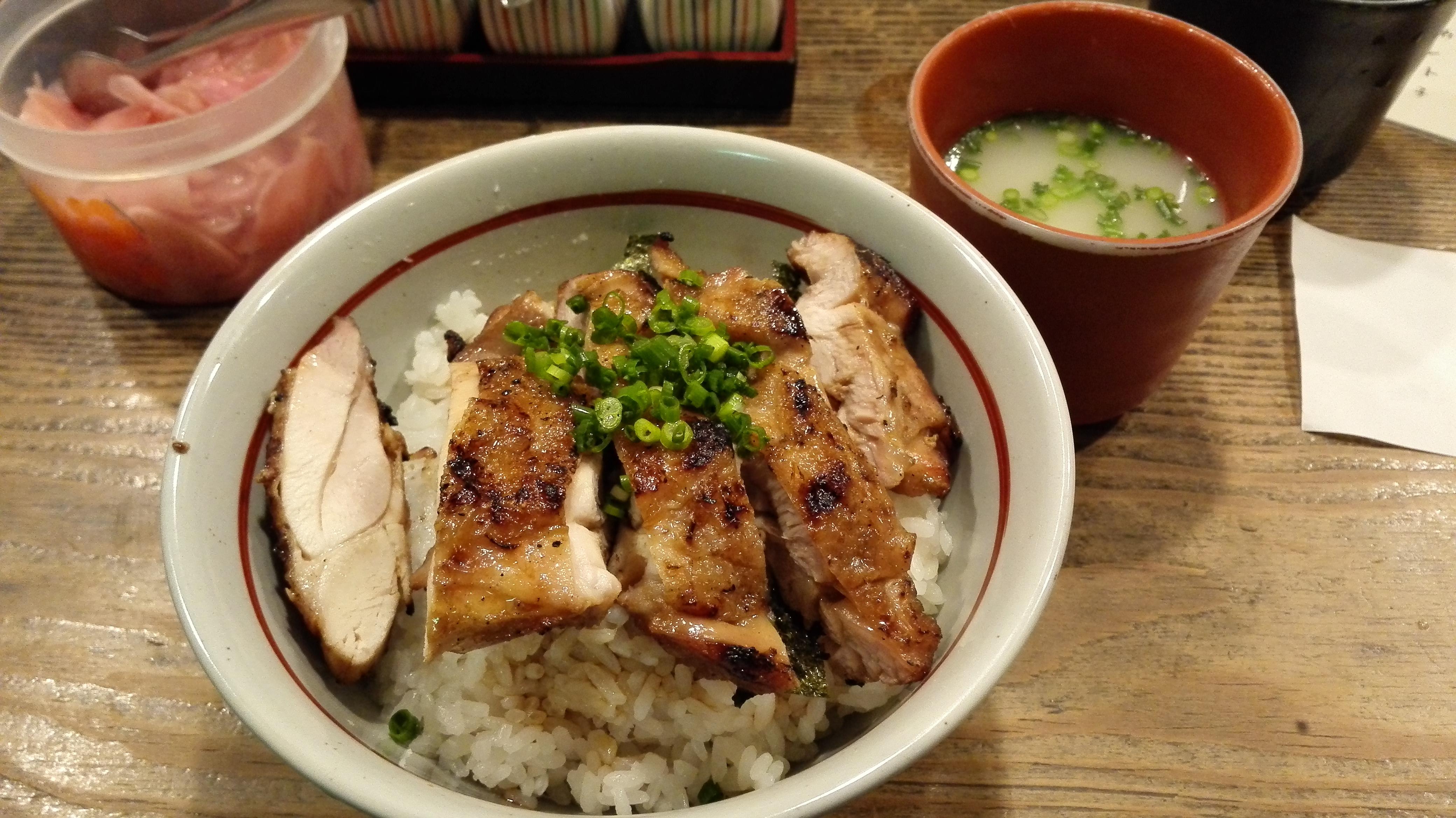 新三浦の鳥丼