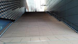ABCホールの階段
