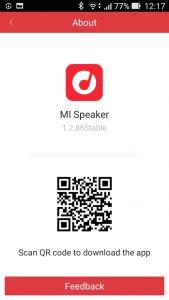 Mi Speakerアプリ