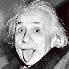 ベロ出しアインシュタイン